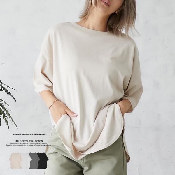 【予約4月下旬】【2021春夏新作】ラウンドBIGTシャツ