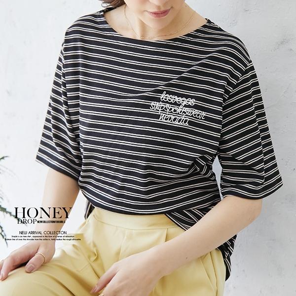 【予約4月下旬】【2021春夏新作】ロゴボーダーTシャツ/y0409n0423