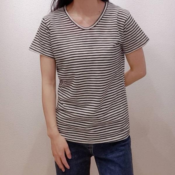 【予約6月上旬】【2021春夏新作】Uネックボ-ダ-Tシャツ