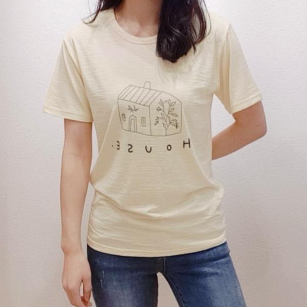 【予約6月上旬】【2021春夏新作】プリントTシャツ(スラブ天竺)