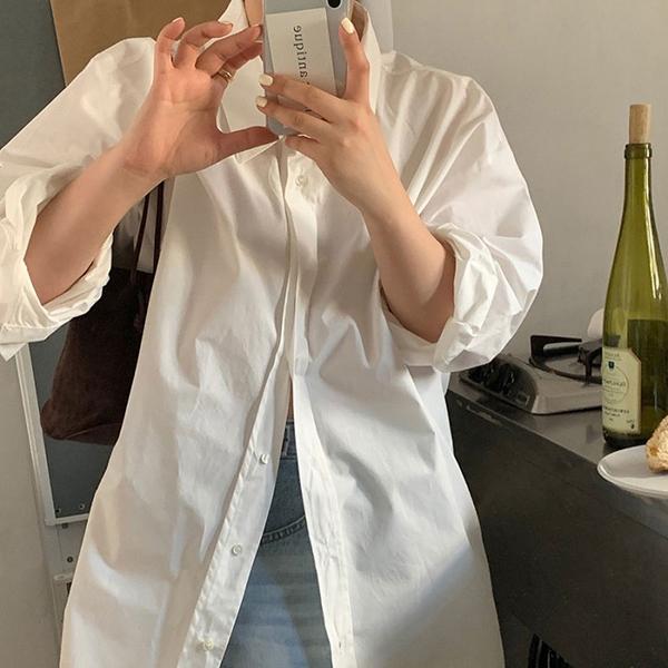【2021春夏新作】オーバーサイズシャツ/y0402n0423