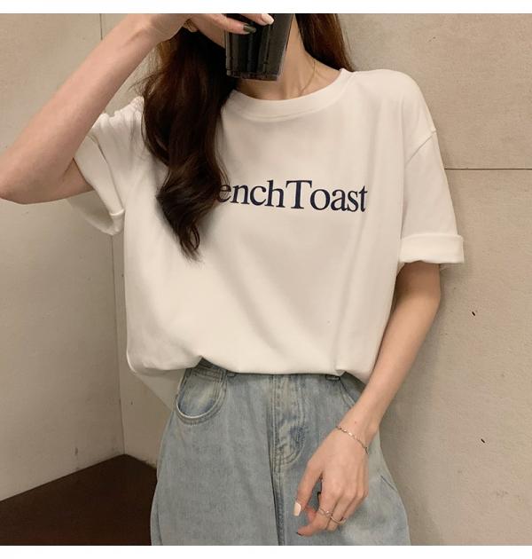 【予約5月下旬】【2021春夏新作】ワンポイントTシャツ/y0423n0521