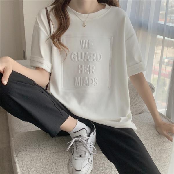 【2021春夏新作】クルーネックTシャツ/y623