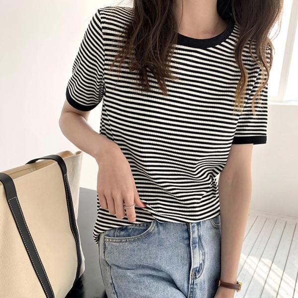 【予約7月上旬】【2021春夏新作】ボーダーTシャツ/0611