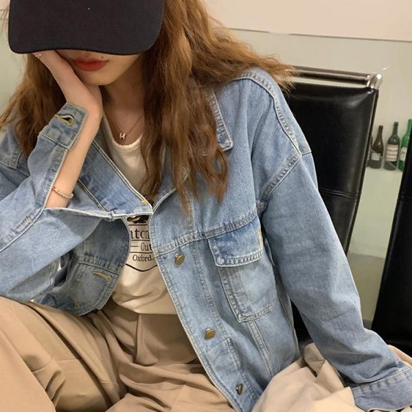 【2021秋冬新作】デニムジャケット/y0908