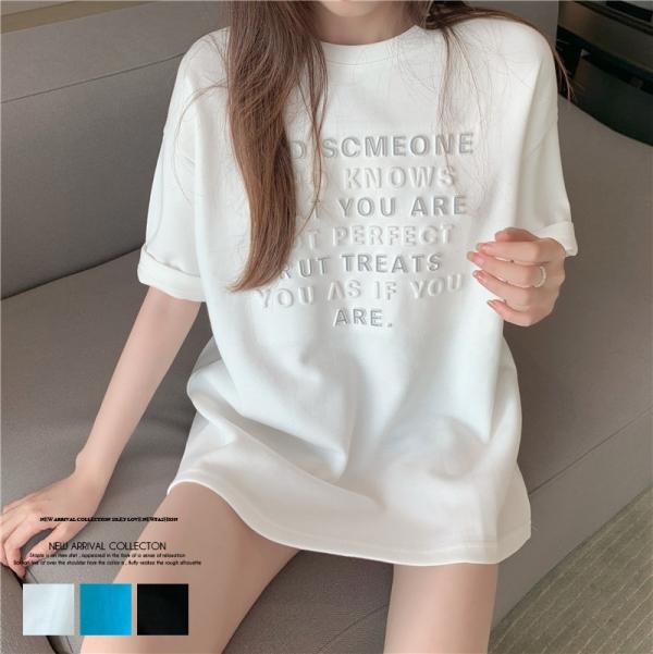 【予約7月中旬】【2021春夏新作】ビッグサイズTシャツ/y0409n0507